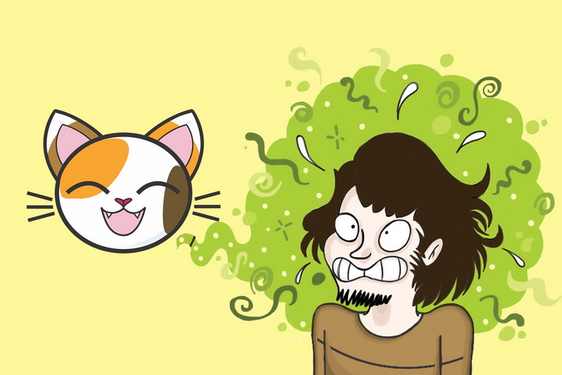 Mundgeruch Katze