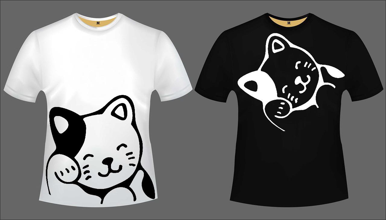 Katzen T-Shirt Set 5