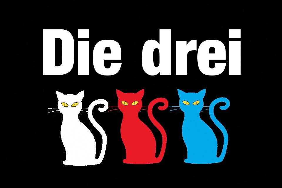 Die drei Fragekatzen